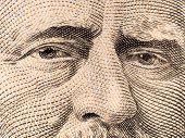 hat Makrofoto der US-Währung