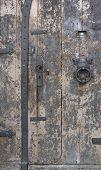 historische Tür Detail in miltenberg