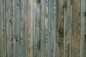 Texture Of Weathered Gray Green Wooden Boards. Vintage Wood Pattern, Surface. Dirty Shabby Timber, O poster