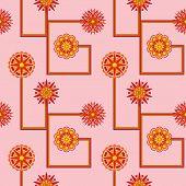 Retro Flower Wallpaper