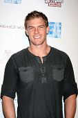 LOS ANGELES - FEB 19:  Alan Ritchson arrives at the 2nd Annual Hollywood Rush at the Wilshire Ebell