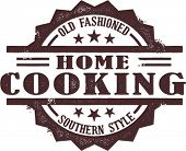 Home Cooking Stamp