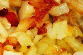 Roasted Potatoes Close Up