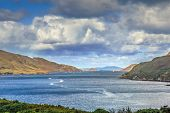Killary Harbour Is A Fjord Located In The West Of Ireland, In Northern Connemara poster