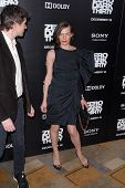 LOS ANGELES - DEC 10:  Milla Jovovich arrives to the 'Zero Dark Thirty' premiere at Dolby Theater on