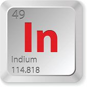 picture of indium  - indium element - JPG
