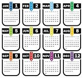 VECTOR - Calendar 2014