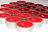 Red and Orange Candles