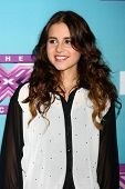 .LOS ANGELES - DEC 17:  Carly Rose Sonenclar at the 'X Factor' Season Finale Press Conference at CBS Television City on December 17, 2012 in Los Angeles, CA