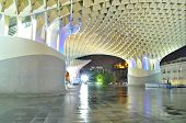 Sevilla,spain -september 27: Metropol Parasol In Plaza De La Encarnacion On September 27, 2012 In Se
