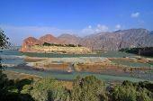 image of landforms  - Danxia landform in GanSu of China - JPG