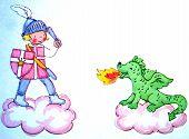 Dragon Slayer And Dragon