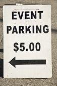 Event Parking $5.00