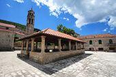 Catholic Church 'svi Sveti' in Korcula island, Croatia