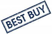 Best Buy Blue Square Stamp