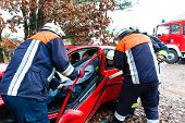 image of fire brigade  - Accident  - JPG