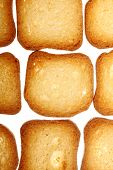 Rusks Bread Toast Biscuits, Diet Food Background