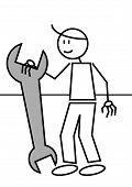 Stick Figure Spanner