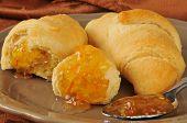 Hot Buttery Croissants Orange Marmalade