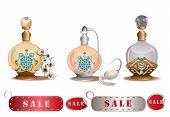 Perfume bottles sale