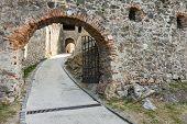 Part Of Medieval Castle