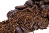 Coffee Grounds And Beans