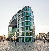 Famous Modern Westhafen-haus In Frankfurt
