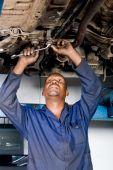 Mecânico de fixação carro