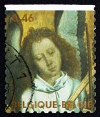 Postage Stamp Belgium 2006 Head Of Angel Playing Trumpet Marine