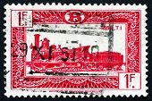Postage Stamp Belgium 1949 Locomotive Type T1, 1862