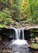 mountain creek scenery Jeseniky, Czech Republic, Europe