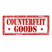 Counterfeit Goods-stamp