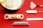 Cannolo Siciliano And Confectioner Utensils