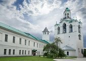 Belfry of the church of Our Lady of the Caves in Holy Transfiguration Monastery. Yaroslavl city