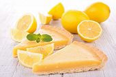 foto of tarts  - lemon citrus tart - JPG