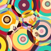 Design colorful circle.