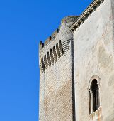The ancient abbey of Montmajour.