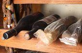 Vintage Wine Bottles