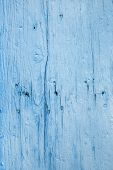 Surface Of An Old Wood Background - Used, Weathered And Old In Blue Color.