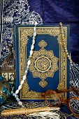 foto of quran  - The Quran is the bible for Muslims - JPG