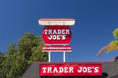 Trader Joe's Exterior And Sign