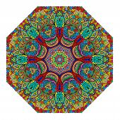 Colorful Octagonal Ornament