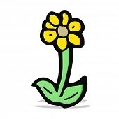 cartoon flower symbol