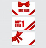 End of year sale savings labels set. Modern Style template Design vector illustration.