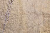 Gunny Sack Texture Background