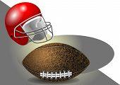 Helmet And Ball