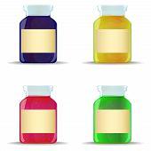 Glass Jars With Jam