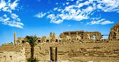 Luxor ancient egypt ruins