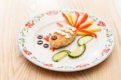 fish cutlet for kids menu