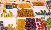 Natural Candied Fruit Made From Fruits On City Market